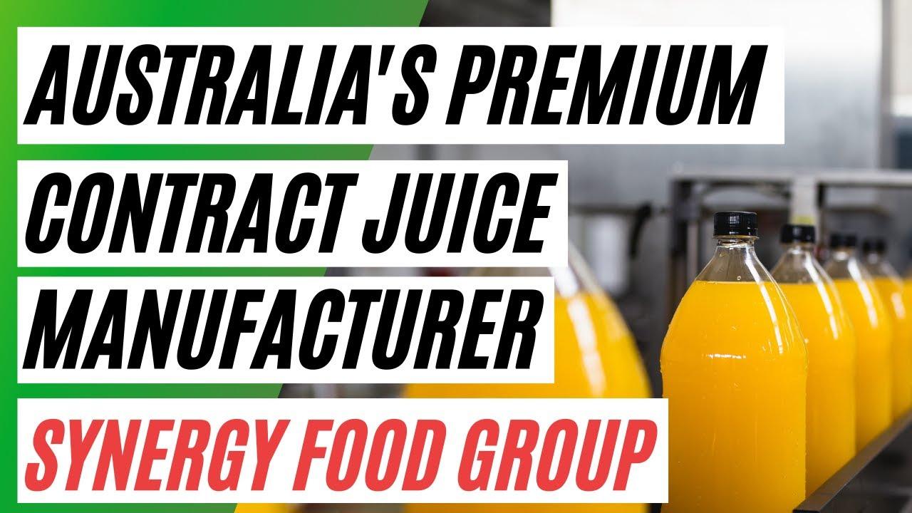 Australia's Premium Contract Juice Manufacturer